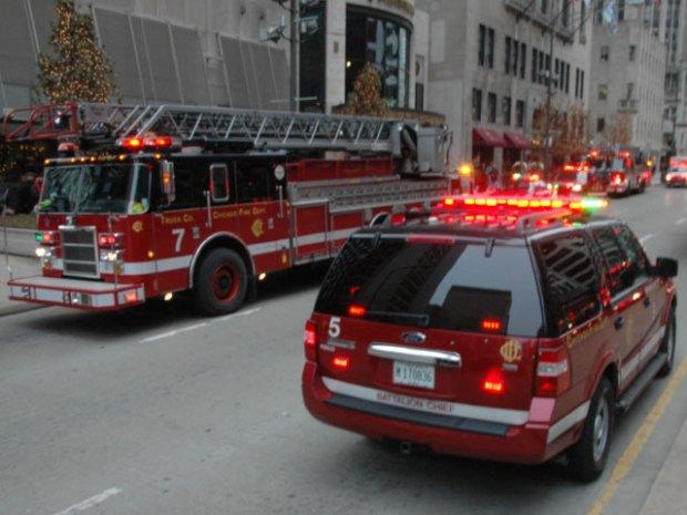 Photos: Michigan Avenue Fire
