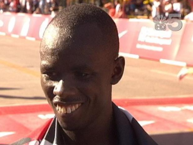 [CHI] Sammy Wanjiru Celebrates 2010 Marathon Win