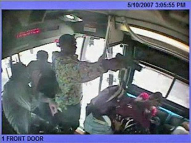 [CHI] Surveillance Video Shows Shooting on CTA Bus