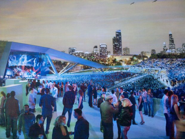 Northerly Island Renderings, Plans