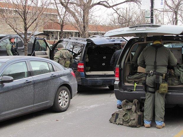 FBI, Police Swarm NU Campus