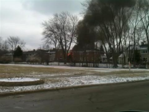 [CHI] Amateur Video: Park Forest Home Explosion