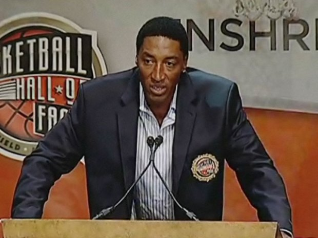 [CHI] Scottie Pippen on the Chicago Marathon