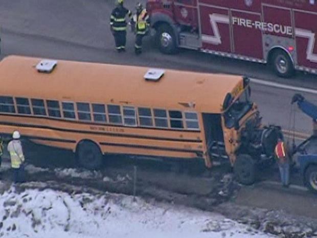 [CHI] Sky 5 Above Poplar Grove Bus Accident