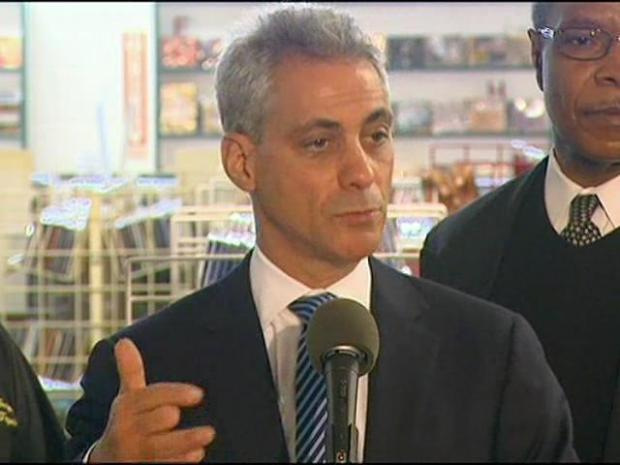 [CHI] Rahm: Red Line Backbone of Mass Transit System