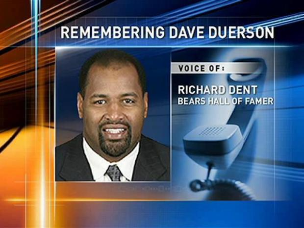 """[CHI] Dent:  Death of Duerson """"Hard to Take"""""""