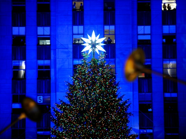 [NY] Rockefeller Center Christmas Tree Lighting