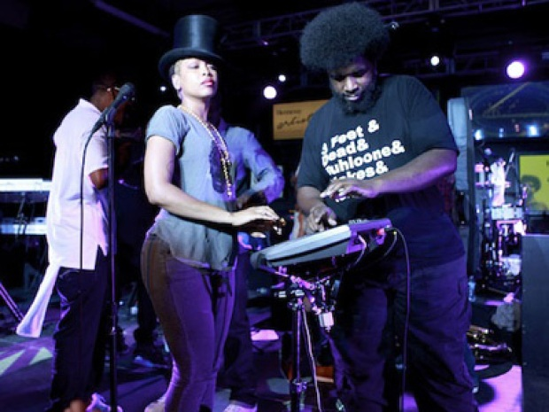 Party of the Year!? The Roots, Q-Tip and Badu