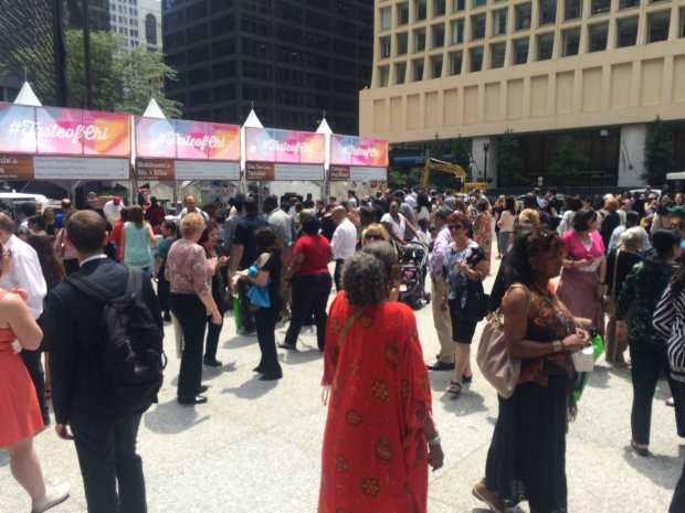 "[CHI] ""Taste of the Taste"" Held on Daley Plaza"
