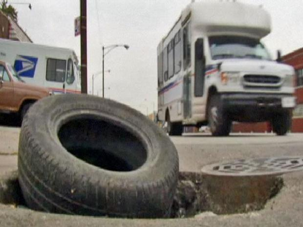 [CHI] Winter Likely to Exacerbate Pothole Problem