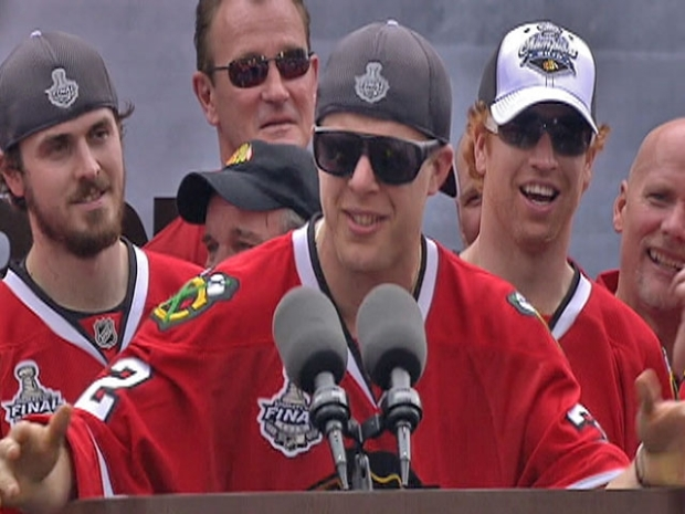 [CHI] Versteeg's Rally Rap