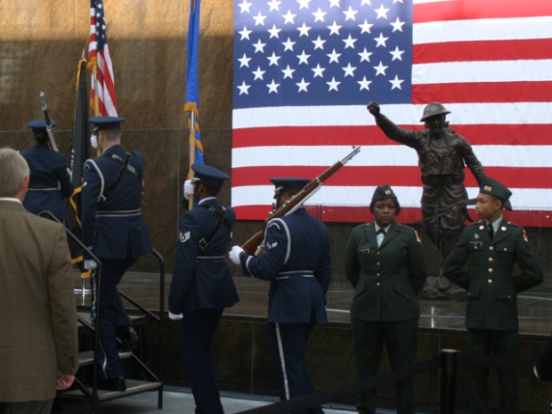 Veterans Honored at Soldier Field Ceremony