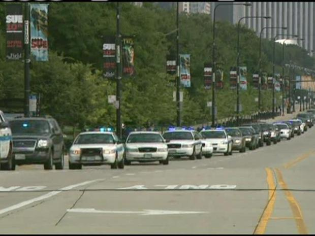 [CHI] Police Procession to Medical Examiner