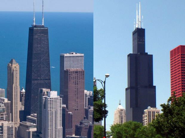[CHI] The Tale Of Two Chicago Towers