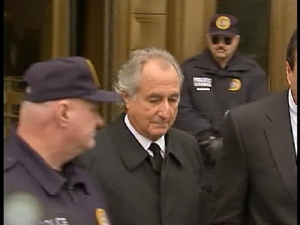 [NY] Madoff Leaves Courthouse