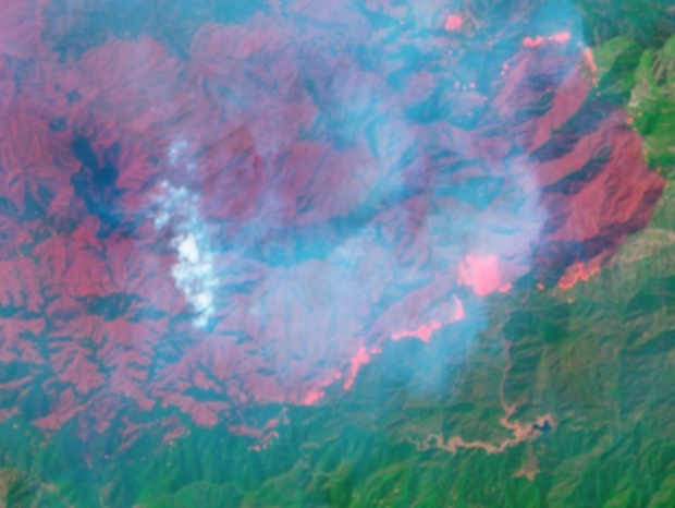 The View from Space: The Station Fire's Deadly Path