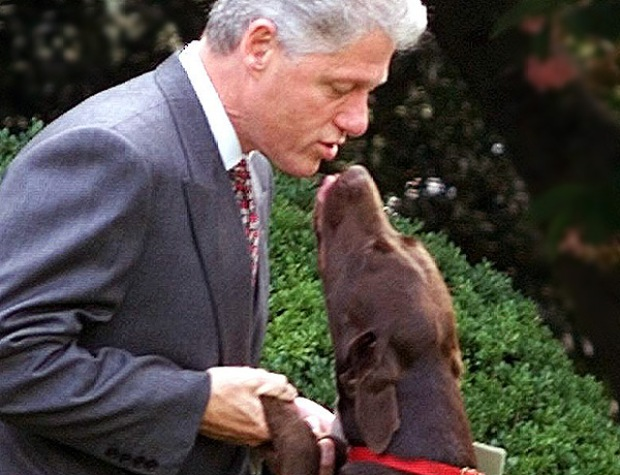 Presidential Smoochin' and Snoggin'