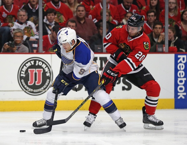 2014 Playoffs: Blackhawks Versus Blues