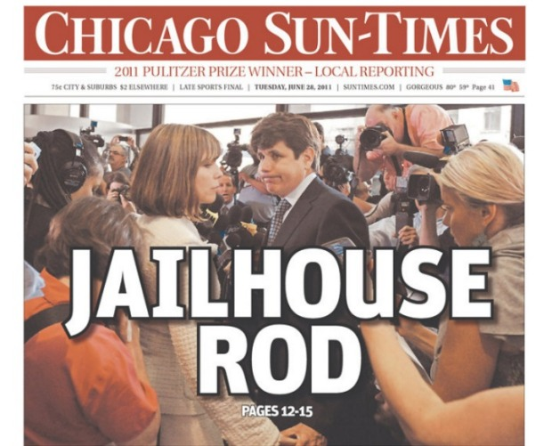 Local Blagojevich Headlines