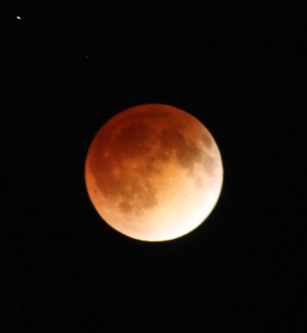 Blood Moon Lights Up Chicago Area Sky