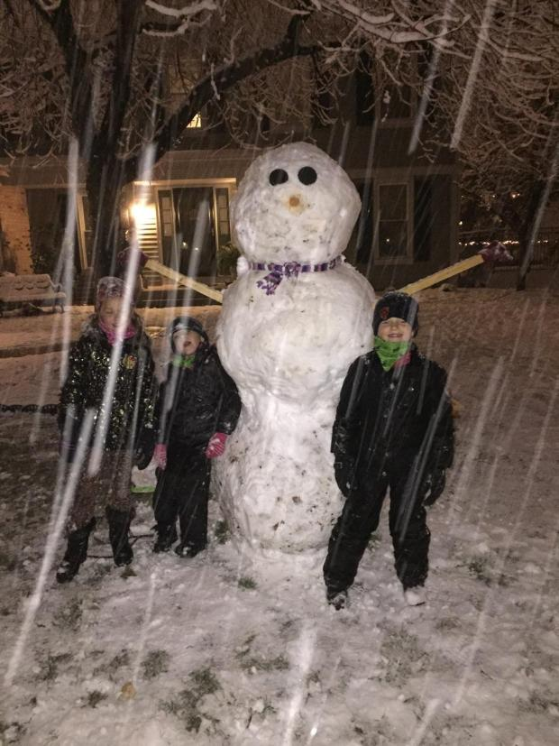 PHOTOS: First Snowstorm of the Season