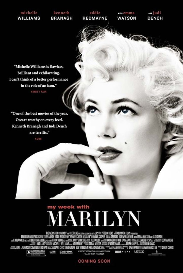 "Posterize: ""My Week With Marilyn,"" ""Hunger Games"" & More"