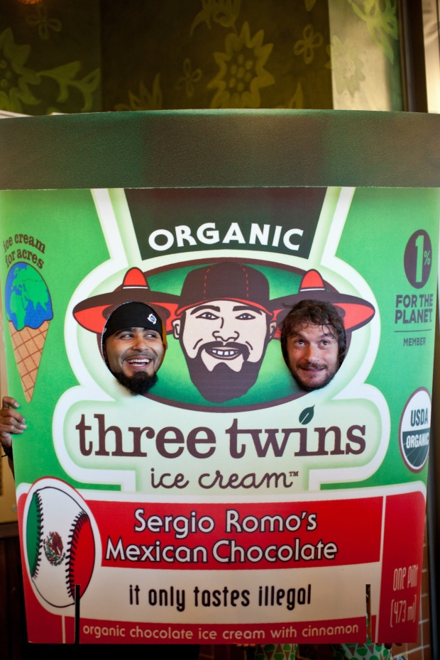 """Sergio Romo Attends """"It Only Tastes Illegal"""" Ice Cream Party"""