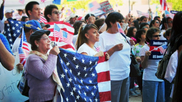 [DFW] Thousands March For Immigration Reform In Dallas