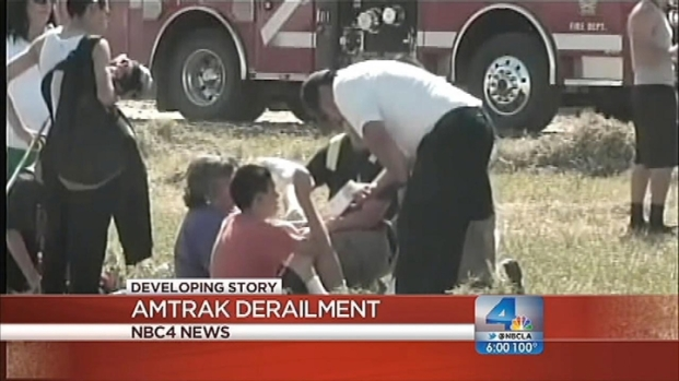 """[LA] Amtrak Derailment: """"I Thought a Bomb Went Off"""""""