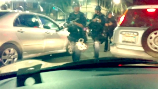 [LA] Raw Video: Police Quell Skateboarder Melee