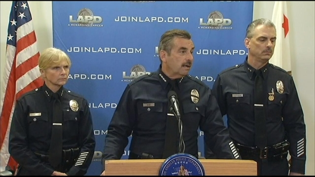 [LA] LAPD Chief Charlie Beck Addresses Ex-Cop Revenge Spree