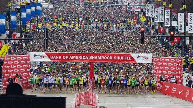 2014 Shamrock Shuffle By The Numbers
