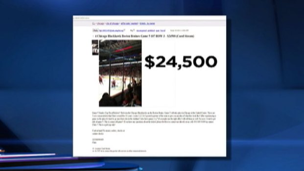 [CHI] Blackhawks Tickets: $24,500