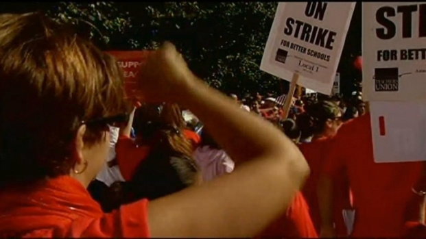 [CHI] Teacher Rallies Continue on Day 5 of Strike