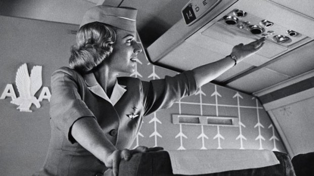 American Airlines Flight Attendants Through the Years