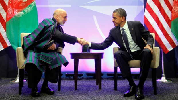 "[CHI] Obama, Karzai Express ""Shared Vision"" for Afghanistan"