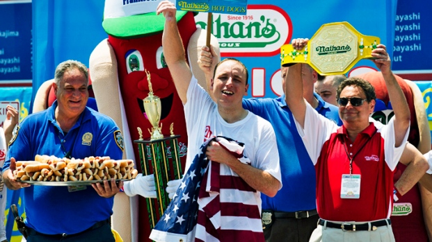 Nathan's Annual July 4 Hot Dog Eating Contest on Coney Island