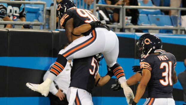Game Photos: Bears at Panthers