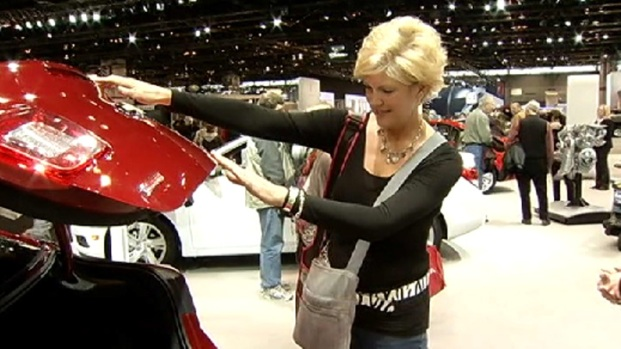 [CHI] Women Take Over the Chicago Auto Show