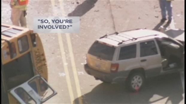 [CHI] 911 Calls Depict Drama of School Bus Crash