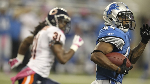 PHOTOS: Lions Run Away From Bears
