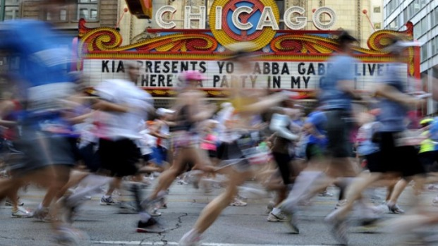 2012 Chicago Marathon By The Numbers