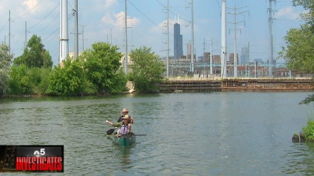 [CHI] As It Is Elsewhere, Chicago River a Tale of North, South