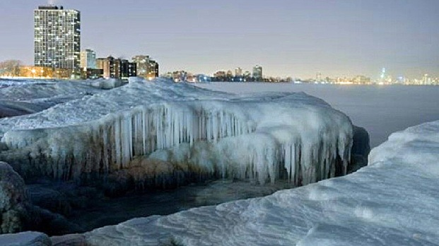 Frozen Chicago Via #Chicagogram