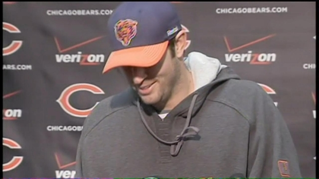 [CHI] Cutler Jokes With Reporters About Engagement