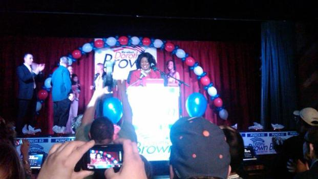 [CHI] Dorothy Brown's Victory Speech