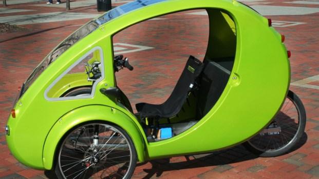 [AP] Bike of the Future Travels East Coast