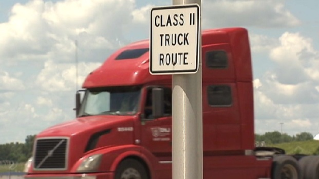 Elwood Residents Fed up With Big Rigs