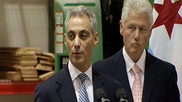 [CHI] Emanuel, Clinton Unveil Massive Infrastructure Trust
