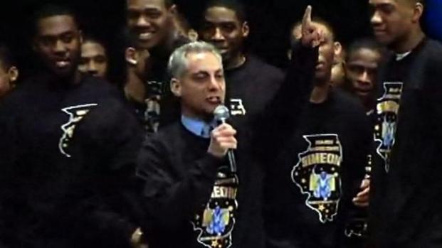 [CHI] Watch Rahm's Rockstar Reception at Simeon HS